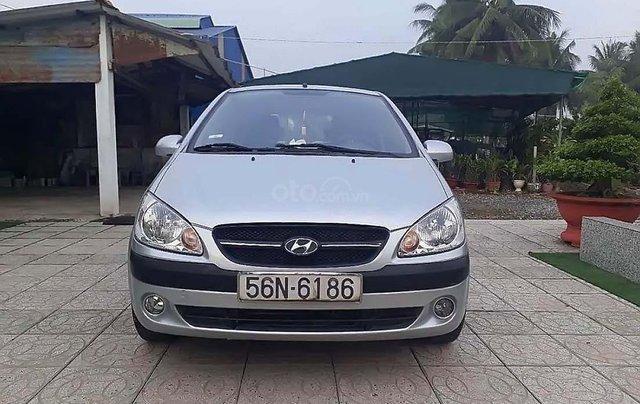 Bán ô tô Hyundai Getz đời 2009, màu bạc, xe nhập chính hãng0