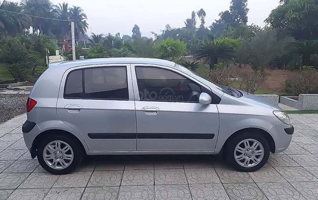 Bán ô tô Hyundai Getz đời 2009, màu bạc, xe nhập chính hãng1