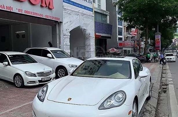 Bán ô tô Porsche Panamera 3.6 sản xuất năm 2012, màu trắng, nhập khẩu0