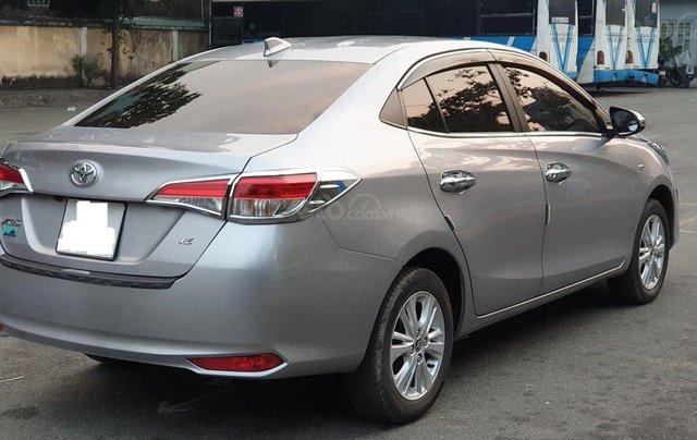 Bán xe Toyota Vios 1.5E sản xuất 2018, màu bạc số sàn, giá tốt2