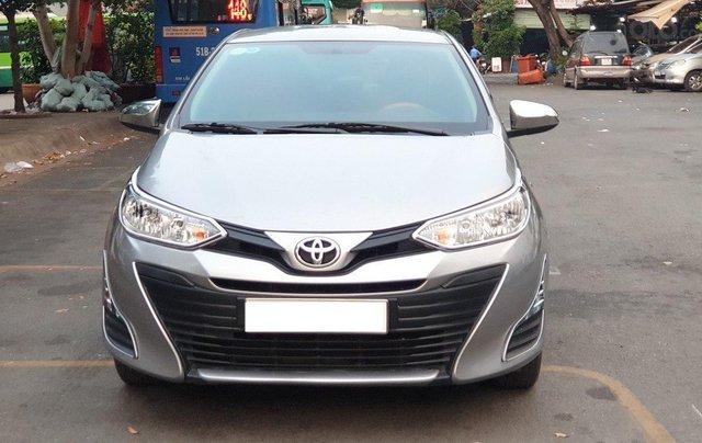 Bán xe Toyota Vios 1.5E sản xuất 2018, màu bạc số sàn, giá tốt8