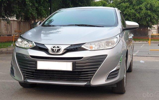 Bán xe Toyota Vios 1.5E sản xuất 2018, màu bạc số sàn, giá tốt7
