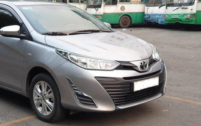 Bán xe Toyota Vios 1.5E sản xuất 2018, màu bạc số sàn, giá tốt9