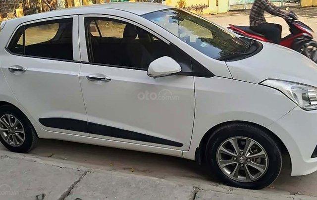 Bán Hyundai Grand i10 năm sản xuất 2016, màu trắng, nhập khẩu  0