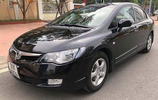 Cần bán xe Honda Civic 2009, màu đen số tự động0