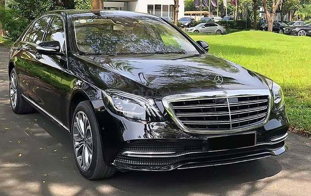 Bán ô tô Mercedes S450 đời 2019, màu đen0