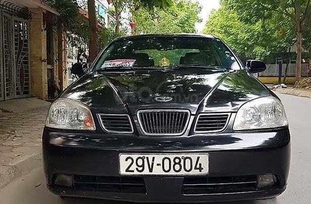 Cần bán xe Daewoo Lacetti Max1.8MT năm 2004, màu đen, xe nhập, giá tốt0