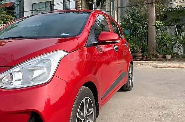 Bán Hyundai Grand i10 đời 2018, màu đỏ, 385tr1
