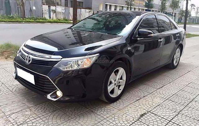 Bán Toyota Camry 2.5Q năm 2018, màu đen, xe nhập0