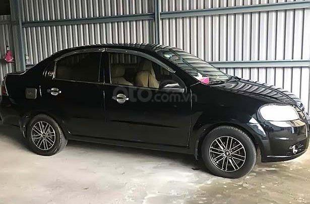Bán ô tô Daewoo Gentra 1.5 MT đời 2009, màu đen xe gia đình0