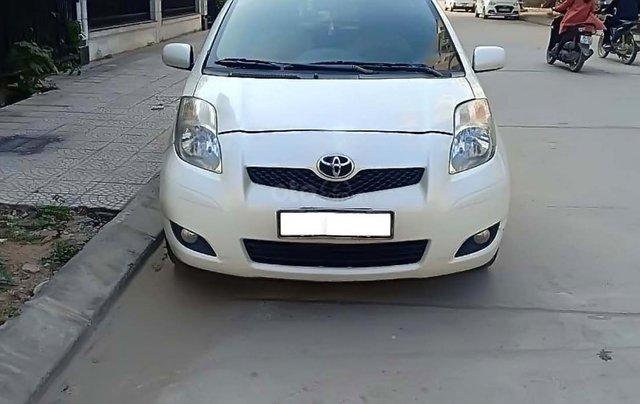 Bán Toyota Yaris 1.3 AT năm 2010, màu trắng, xe nhập, số tự động1