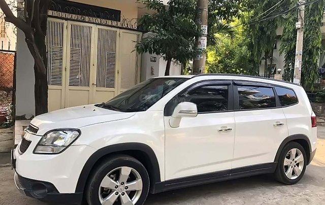 Bán Chevrolet Orlando LTZ sản xuất 2017, màu trắng còn mới, 486tr0