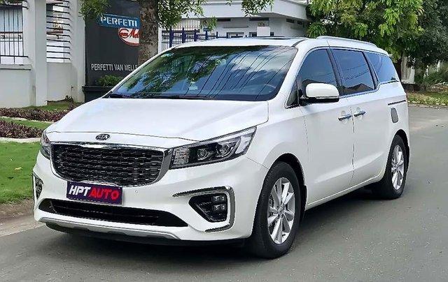 Bán Kia Sedona 2018, màu trắng, xe gia đình0