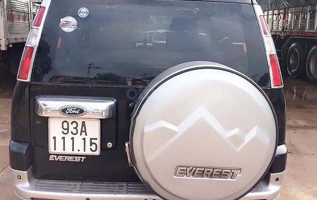 Bán Ford Everest 2008, màu đen, số sàn1