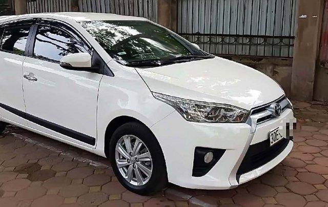 Cần bán gấp Toyota Yaris 1.5 G năm 2017, màu trắng, nhập khẩu chính chủ, giá 598tr0