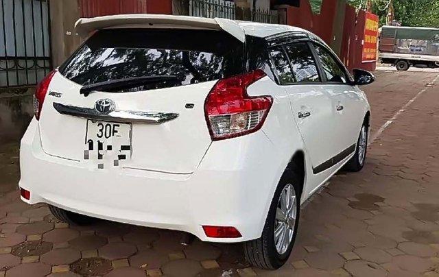 Cần bán gấp Toyota Yaris 1.5 G năm 2017, màu trắng, nhập khẩu chính chủ, giá 598tr1