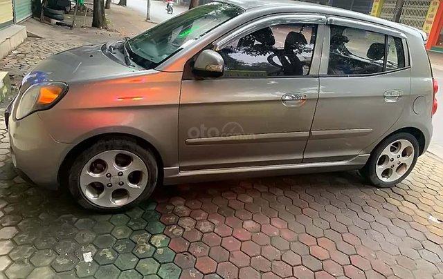 Cần bán xe Kia Morning SLX đời 2008, màu xám, nhập khẩu số tự động0
