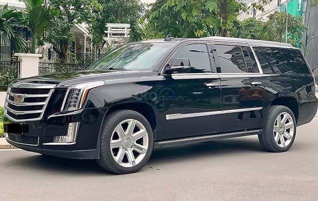 Bán Cadillac Escalade Platium năm 2015, màu đen, xe nhập như mới0