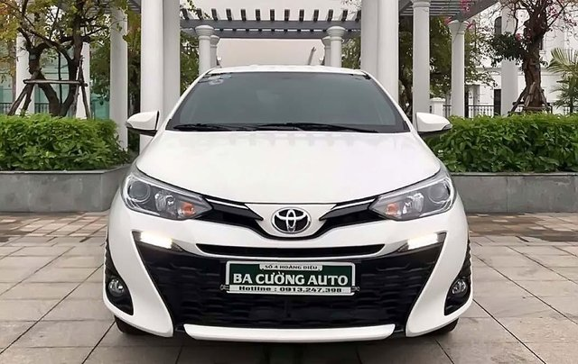 Bán Toyota Yaris G đời 2019, màu trắng, xe nhập, số tự động0