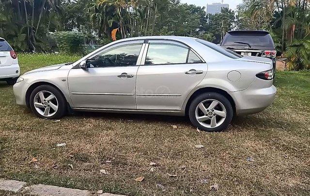 Bán Mazda 6 2.0 MT năm 2004, màu bạc, giá tốt1