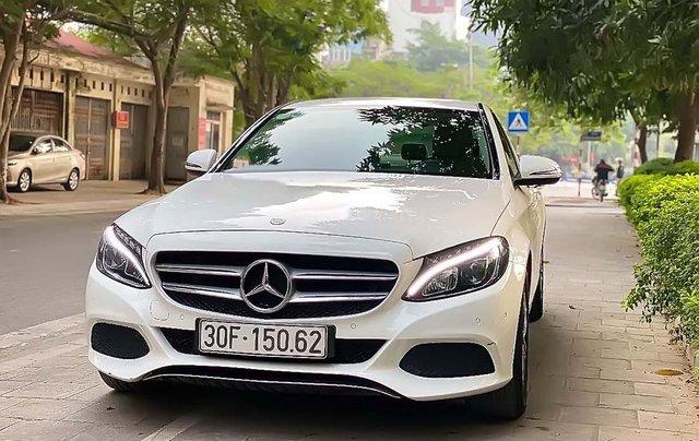 Cần bán Mercedes C200 đời 2017, màu trắng0