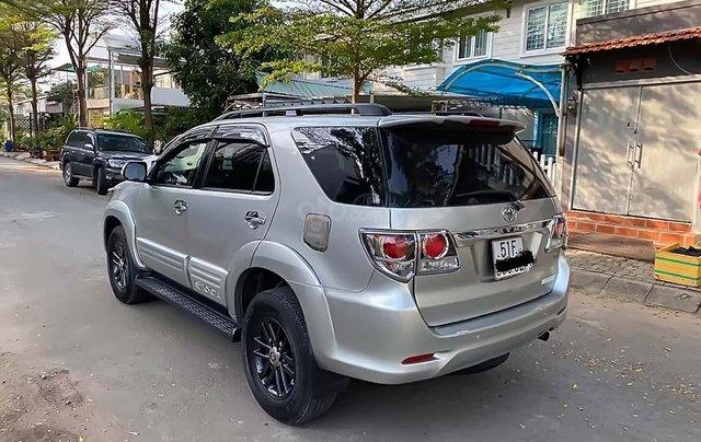 Bán ô tô Toyota Fortuner 2.5 G MT sản xuất 2015, màu bạc1