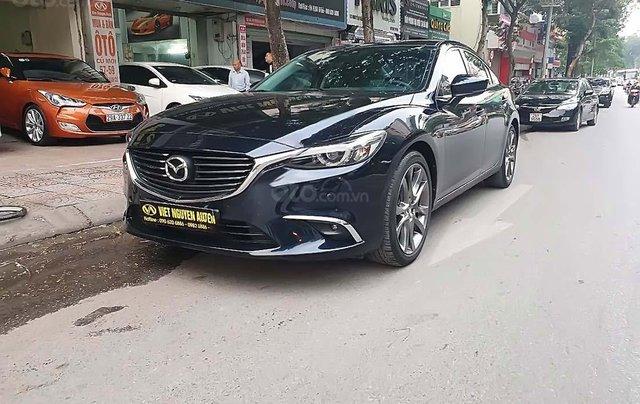Bán xe Mazda 6 2.0 prenium 2018, màu xanh lam, biển thành phố0