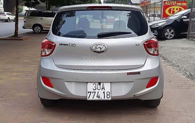 Bán Hyundai Grand i10 2015, màu bạc, nhập khẩu như mới, giá tốt1