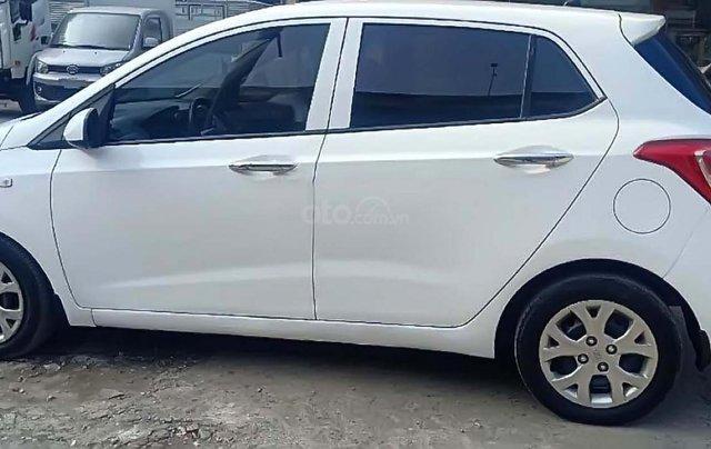Bán Hyundai Grand i10 1.0 MT Base năm sản xuất 2014, màu trắng, nhập khẩu 0