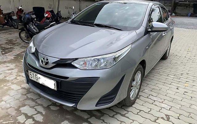 Bán Toyota Vios E đời 2018, màu bạc, giá tốt0