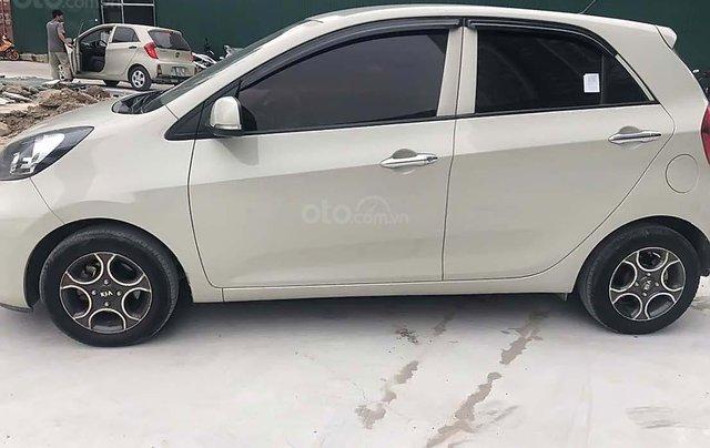 Cần bán lại xe Kia Morning 2015, màu kem (be), nhập khẩu nguyên chiếc, giá 279tr2