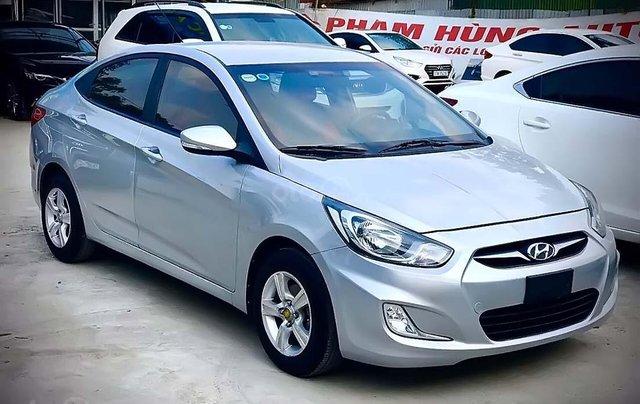 Bán Hyundai Accent 1.4 AT 2011, màu bạc, xe nhập  0