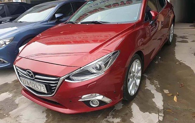 Bán xe Mazda 3 2015, màu đỏ0