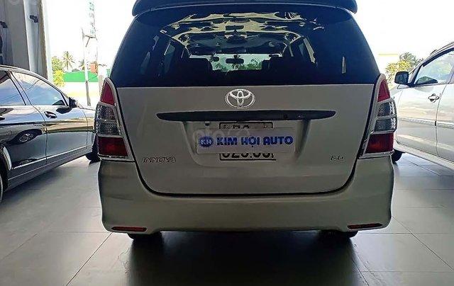 Cần bán lại xe cũ Toyota Innova 2.0 đời 2012, màu bạc, giá 320tr2