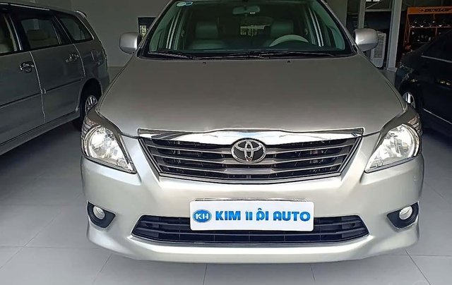 Cần bán lại xe cũ Toyota Innova 2.0 đời 2012, màu bạc, giá 320tr0