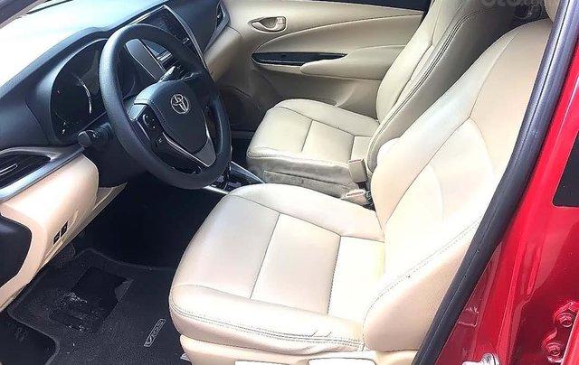 Cần bán Toyota Vios 1.5E CVT năm sản xuất 2019, màu đỏ, xe còn mới2