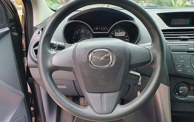 Bán Mazda BT 50 2.2L 4x4 MT 2016, màu nâu, nhập khẩu 4