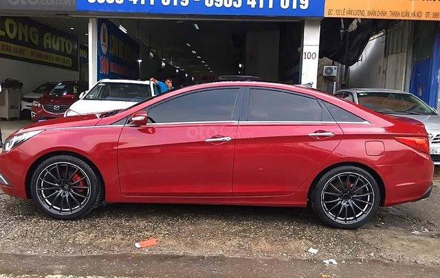 Bán Hyundai Sonata 2.0 AT 2011, màu đỏ, nhập khẩu  2