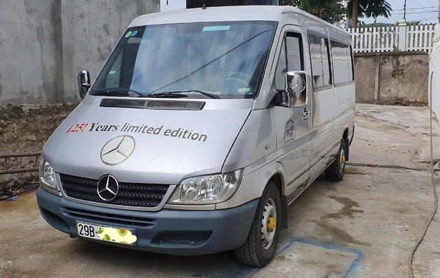 Bán xe Mercedes 16 chỗ đời 2010, màu bạc, 275 triệu1