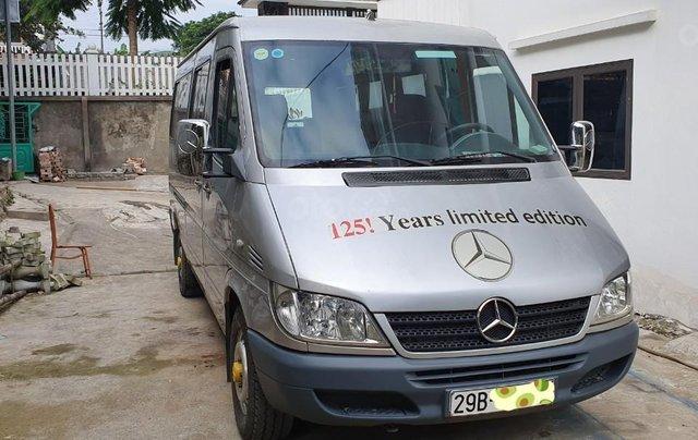 Bán xe Mercedes 16 chỗ đời 2010, màu bạc, 275 triệu5