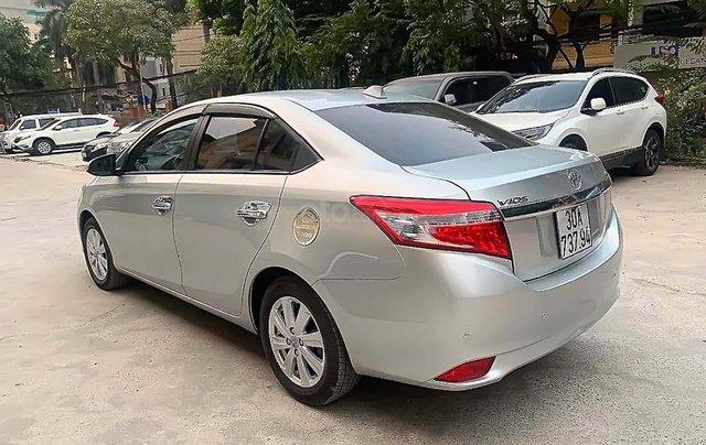 Bán Toyota Vios G năm sản xuất 2014, màu bạc ít sử dụng, giá tốt4