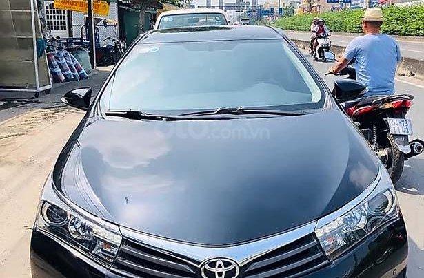 Cần bán Toyota Corolla Altis năm 2014, màu đen chính chủ, giá chỉ 605 triệu0