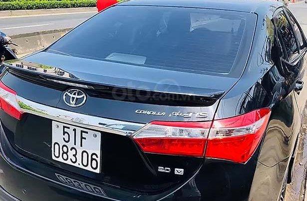 Cần bán Toyota Corolla Altis năm 2014, màu đen chính chủ, giá chỉ 605 triệu2