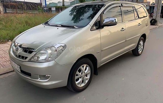 Bán Toyota Innova G đời 2008, màu bạc0