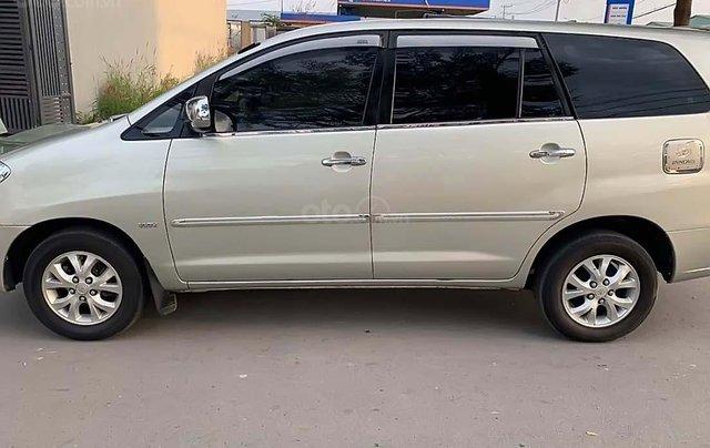 Bán Toyota Innova G đời 2008, màu bạc1