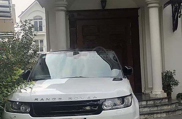 Bán LandRover Range Rover Sport Sport sản xuất năm 2014, màu đỏ, xe nhập0
