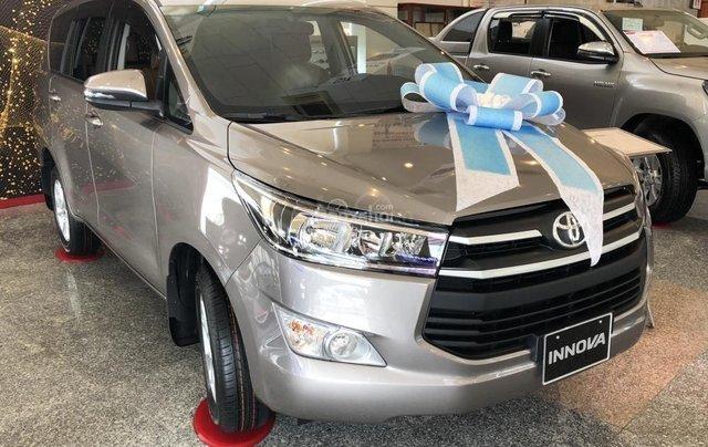 Toyota Đà Nẵng bán Innova 2.0E 2019 giảm ngay 80Tr giá chỉ còn 691Tr - Trả góp LS 0%/tháng - LH 09035986672