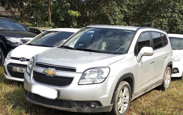 Bán Chevrolet Orlando năm sản xuất 2017, màu bạc1