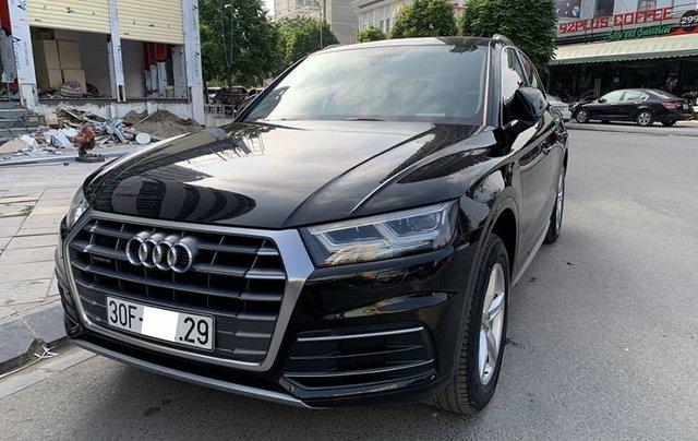 Cần bán lại xe Audi Q5 Sport năm sản xuất 2017, màu đen, xe nhập10