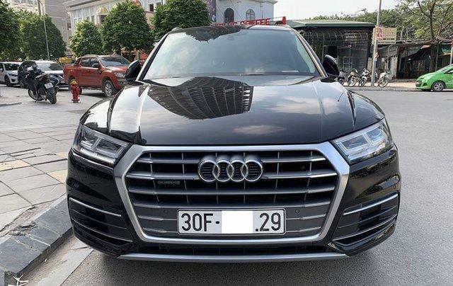 Cần bán lại xe Audi Q5 Sport năm sản xuất 2017, màu đen, xe nhập0